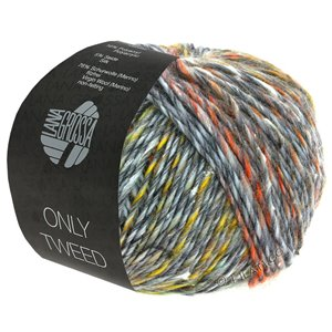 109 - lt gray/dk gray/raspberry/yello/green/orange/turquoise