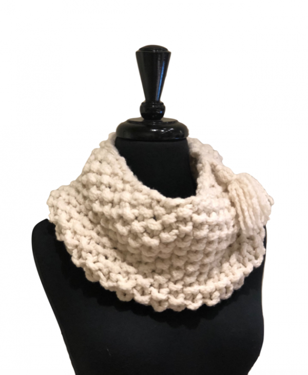 Rope Boucle Cowl